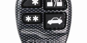"904100 Clifford - 4 Button ""Carbon Fibre"" Remote Control Keyfob"