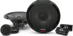 Alpine SPR-60C - 16.5cm component speakers