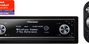 Pioneer DEX-P99RS - High Specification CD/MP3/USB Radio