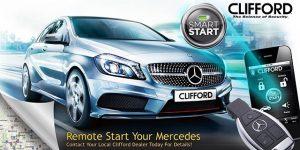 Clifford Mercedes Benz - Remote Start From Original Key