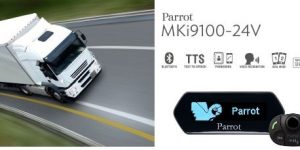 Parrot MKi9100 (24 VOLT) Bluetooth Handsfree Car Kit For Trucks