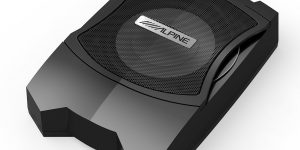 "Alpine PWE-V80 - 8"" 160W Compact Powered Subwoofer Box"